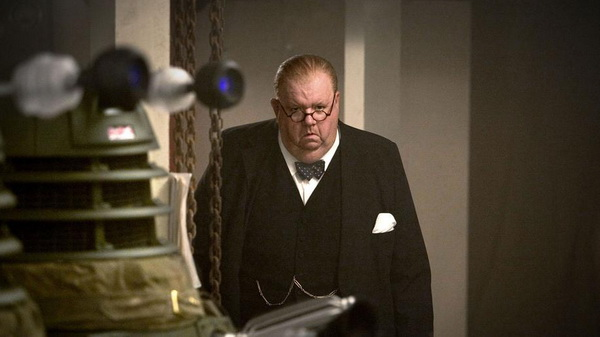 Doctor Who Ian McNeice Churchill