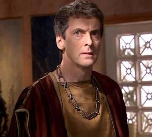 Peter Capaldi in Doctor Who, The Fires of Pompeii