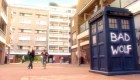 Doctor Who Aliens of London Bad Wolf graffiti