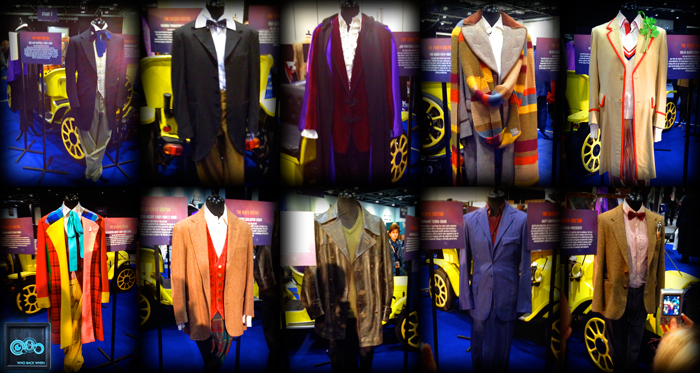 Doctor Who costumes 50th convention WhoBackWhen