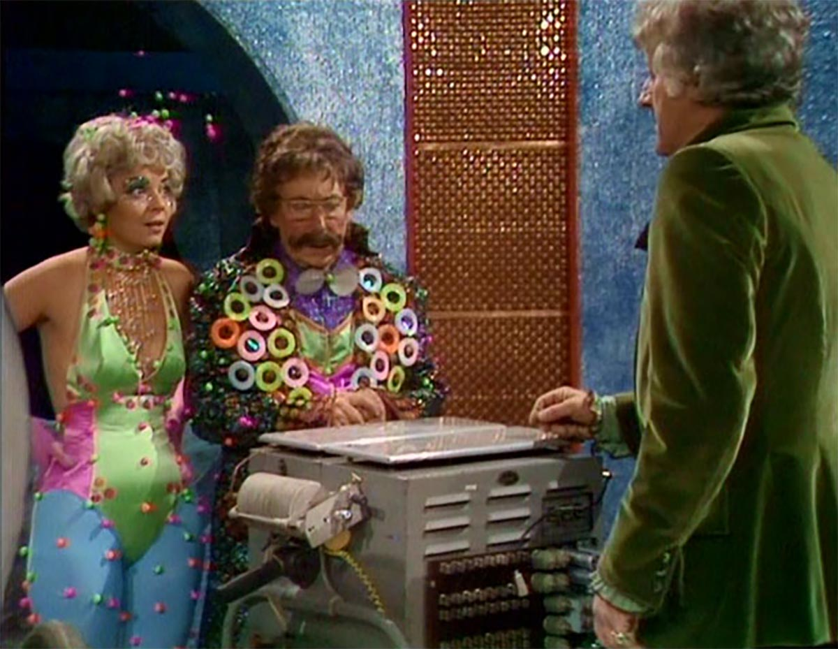 carnival of monsters cheryl hall pertwee classic doctor who back when