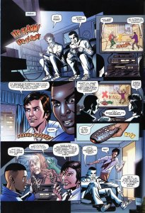 Doctor Who comic strip The Lodger by Gareth Roberts, page 3