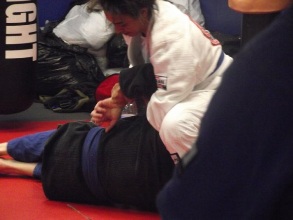 Cheryl Ragsdale and Mark Johnson BJJ