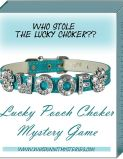 Find the missing Lucky Pooch Choker and break the bad luck in this multiplayer crime mystery game, suitable for advanced teens and adults. Whimsical and wacky yes, but still lots of fun.