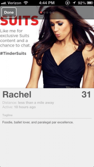 #TinderSuits