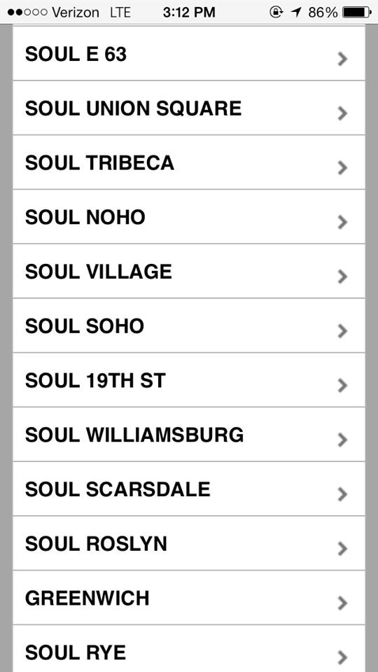 SoulCycle 19th St, 2nd Union Square Location