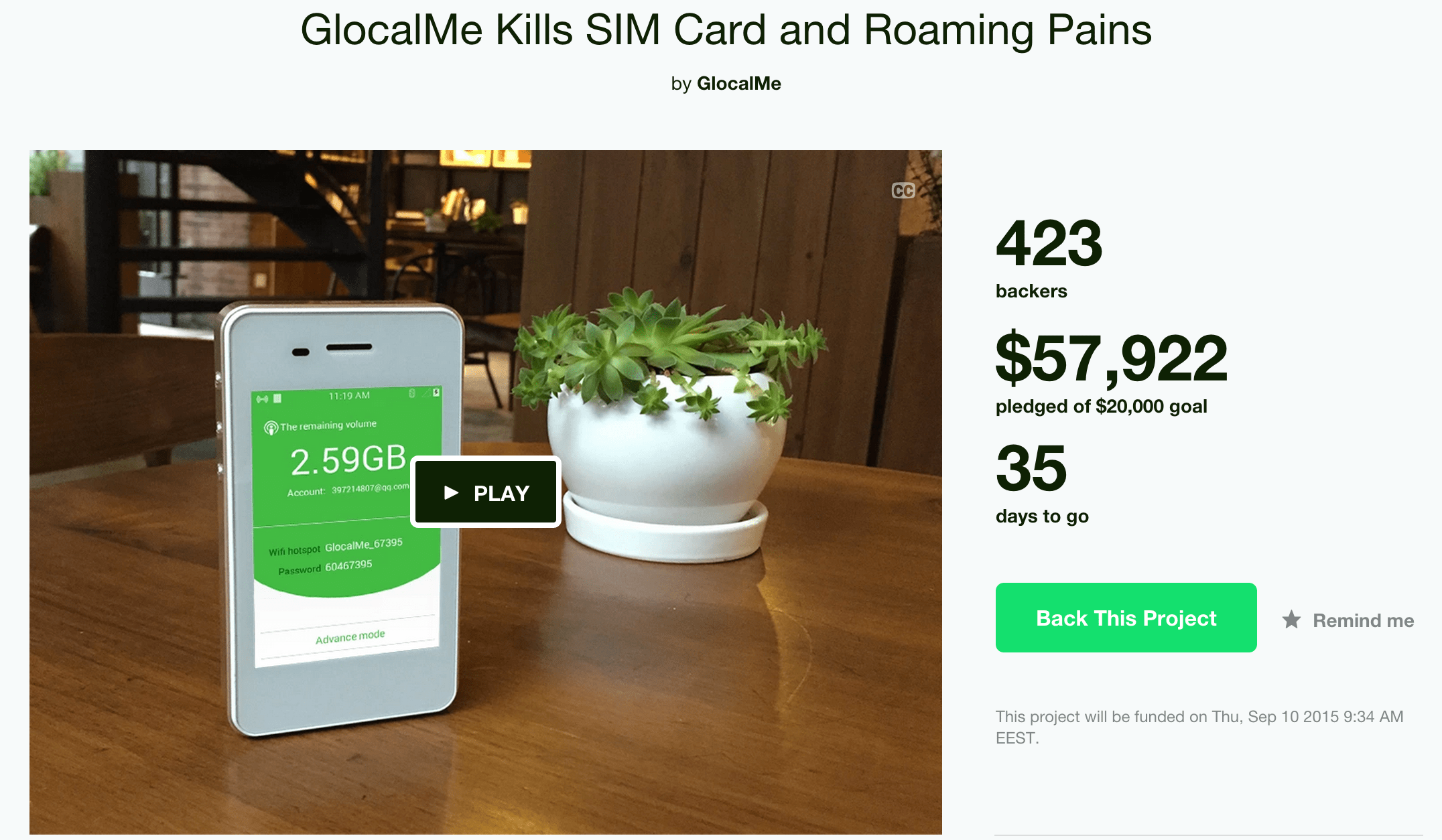 Is GlocalMe/uCloudlink a fake company that's tricking consumers and kickstarter?