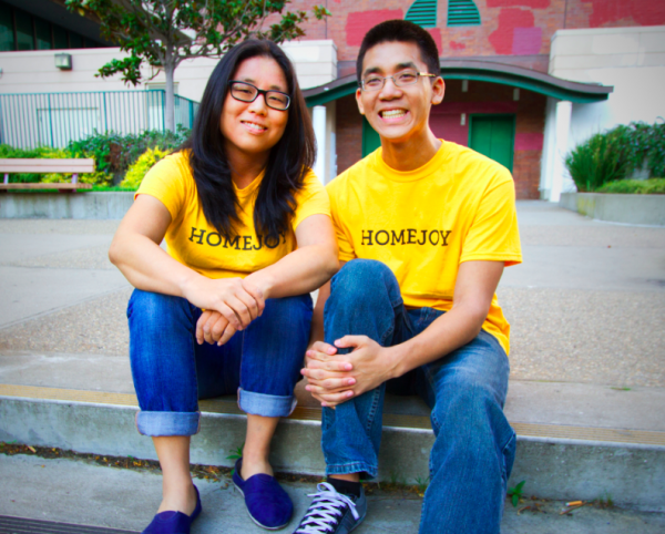 Homejoy cofounders and siblings Adora and Aaron Cheung. (Courtesy Homejoy)