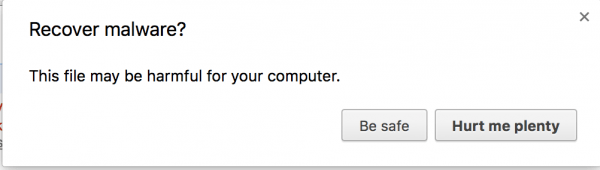 Google Chrome - Recover Malware