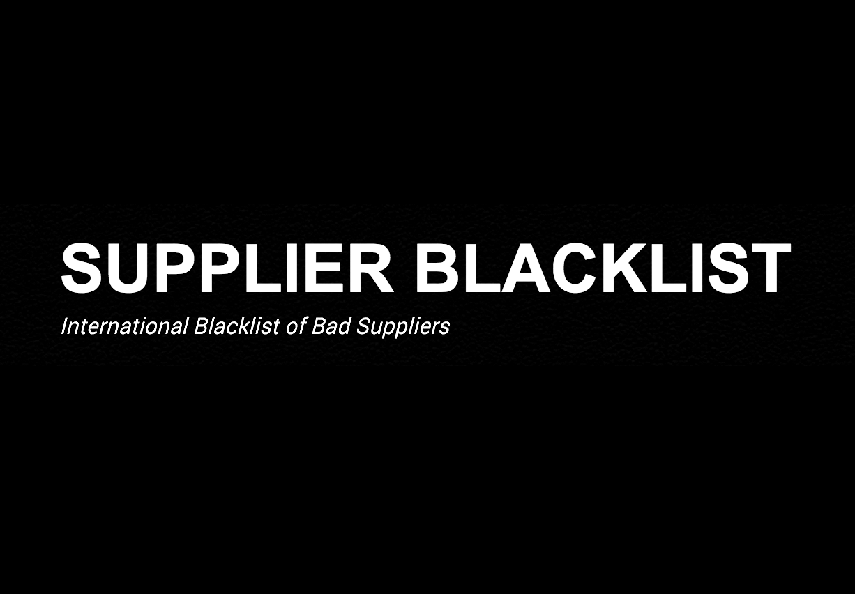 Importing from a distributor? You need the Supplier Blacklist.