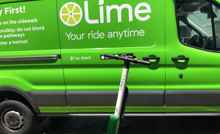 Lime issues recall for a scooter model after reports that they can break apart