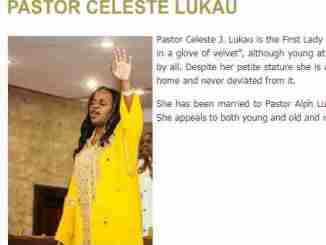 Pastor Celeste J. Lukau , Biography , Contact Details , Wiki , AGE.