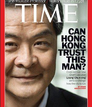 談民主與重分配-為何香港特首梁振英堅決反對普選?