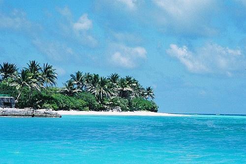 太平島一景。圖片來源:C.C. by Quinn Hung。