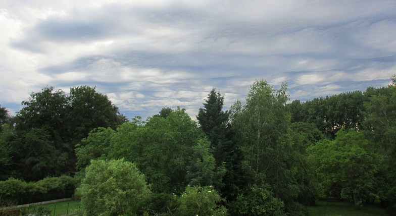 wide angle view ... quite a skyscape