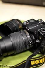 Nikon D90 18-105mm Lens