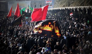 It is estimated somewhere between 20-27 million pilgrims visit the shrine of Hussain on Arbaeen Day