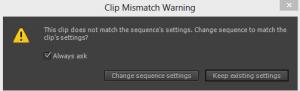 Clip Mismatch