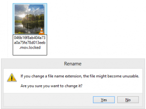 new file extension