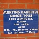 Martins Place BBQ