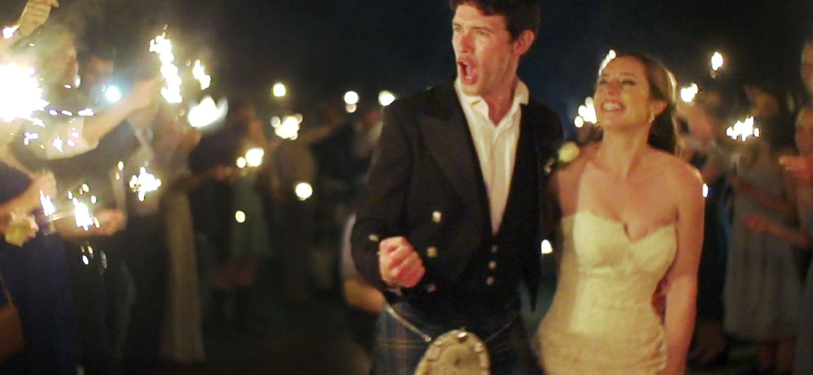 Scotland Meets Texas // A wedding film with Kilts and Cowboy Hats