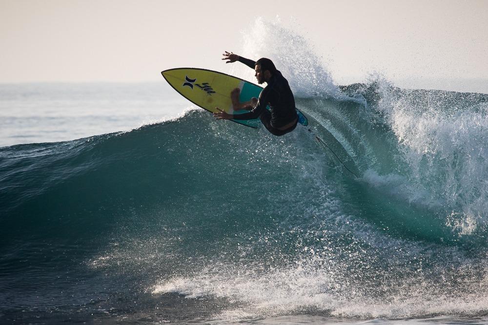 Marlon Gerber Balinese Surfer Hurley