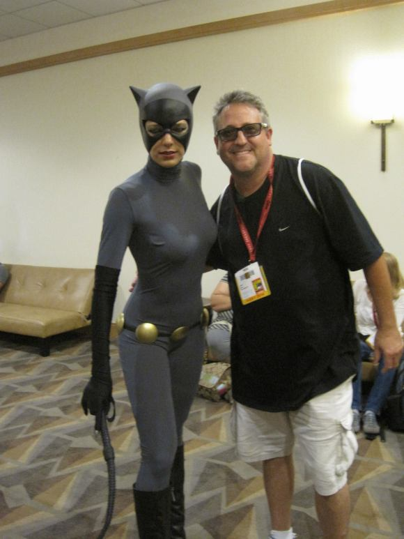 Rob Harris & Adrianne Curry Batwoman Comic Con San Diego
