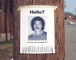 Hello Lionel Richie
