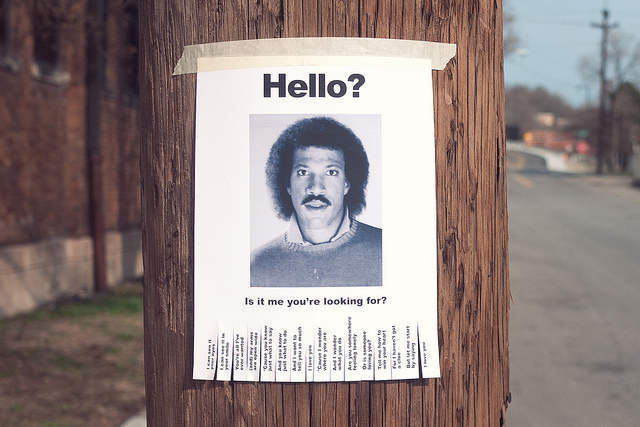Missing Lionel Richie - Who Is Rob Harris