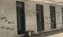 the 'Hotel de Blitz'