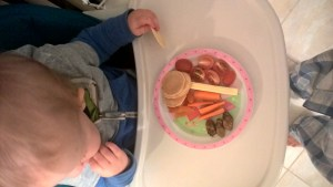 Canned smoked oysters form an important component of The Toddler Who Eats Nothing - diet