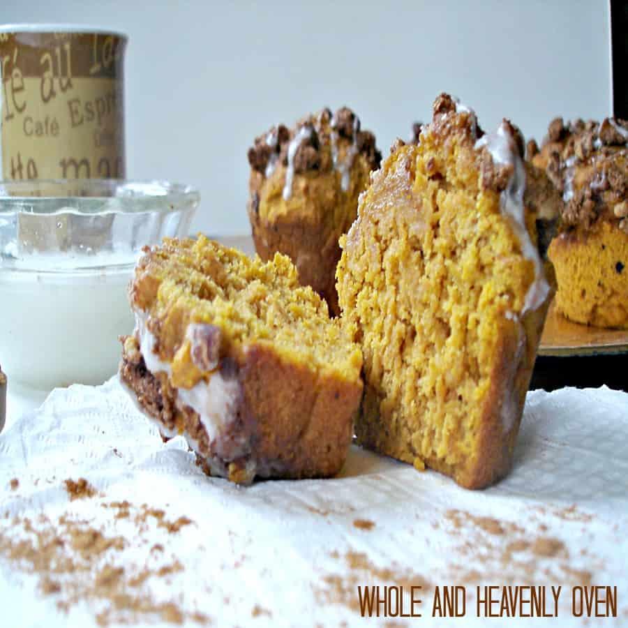 Pumpkin Pecan Streusel Muffins17