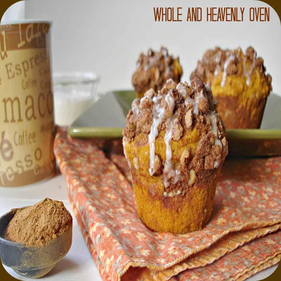 Pumpkin Pecan Streusel Muffins4