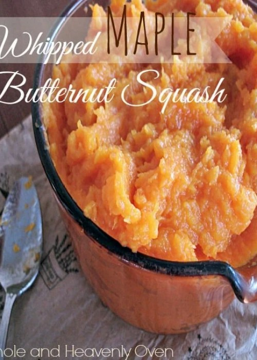 Whipped Maple Butternut Squash