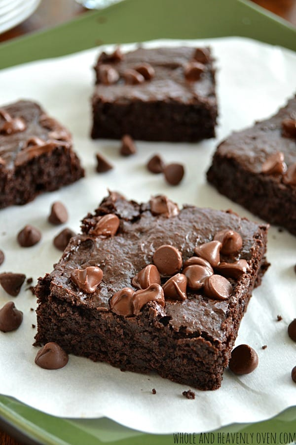 Ultimate Gluten-Free Fudge Brownies | wholeandheavenlyoven.com