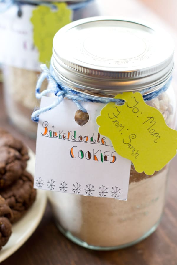 Homemade cookies have never been simpler with these three different cookie mixes! Perfect for gift-giving or for whenever that homemade cookie-craving strikes! @WholeHeavenly