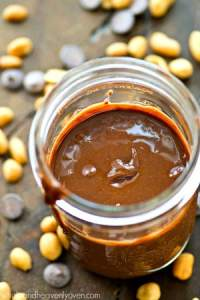 You're going to want to spread this chocolate-y homemade peanut butter over everything! Like Nutella only even more amazing and better for you!