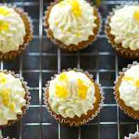 Best-Ever Mini Lemon Cupcakes with Cream Cheese Frosting