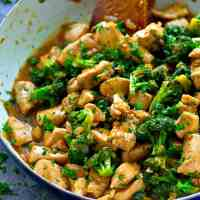 One-Pot Citrus Chicken and Broccoli Stir-Fry