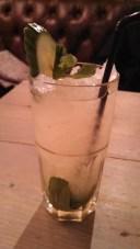 Bill's greens cocktail