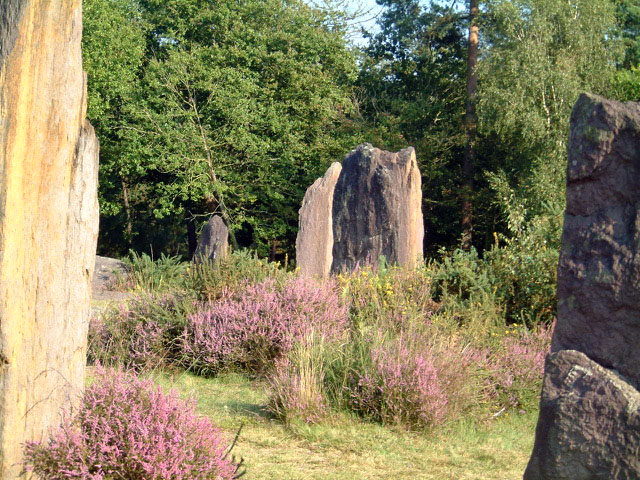 megaliths in Brittany France