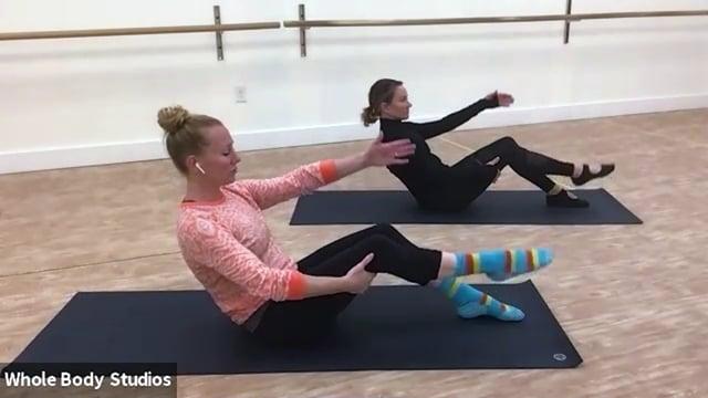 Whole Body Studios - Beginner Pilates Mat Class 09