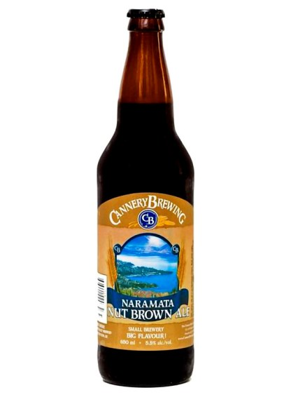 Cannery Brewing Naramata Nut Brown Ale