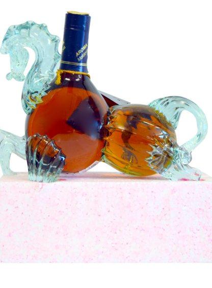 Divin 'Aroma'-Horse Glass Figurine