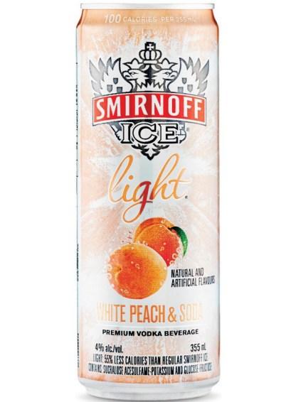 Smirnoff Ice Light White Peach & Soda Ca