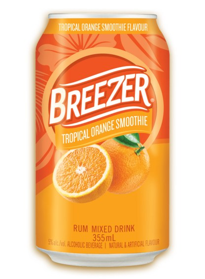 Breezer Tropical Orange Smoothie 6-Pack