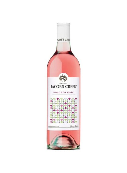 Jacob's Creek Moscato Rose In A Can