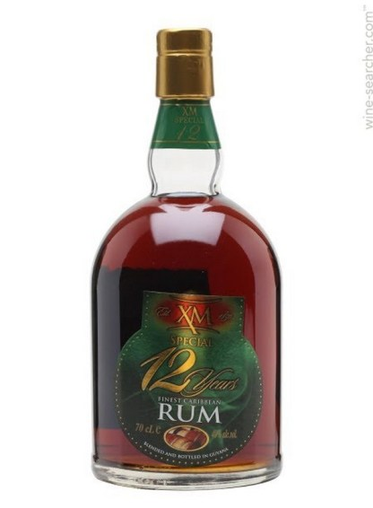 Xm Special 12 Year Old Rum