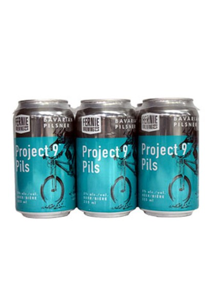 Fernie Brewing Project 9 Pilsner