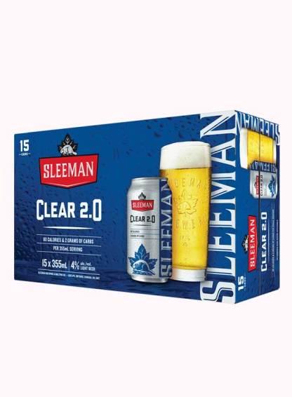 Sleeman Clear 15 cans